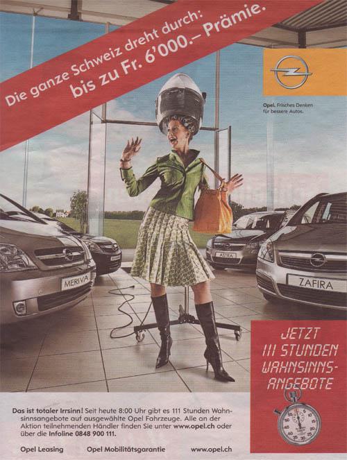Beim Fotoshooting ging es zu wie im alten Opel Manta