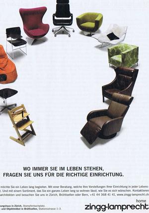 ... oder, wo immer Sie stehen, Ihr freundlicher Stuhl von nebenan