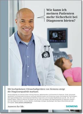 Siemens Healthcare Inserat