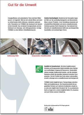 Tormax Imagebroschüre