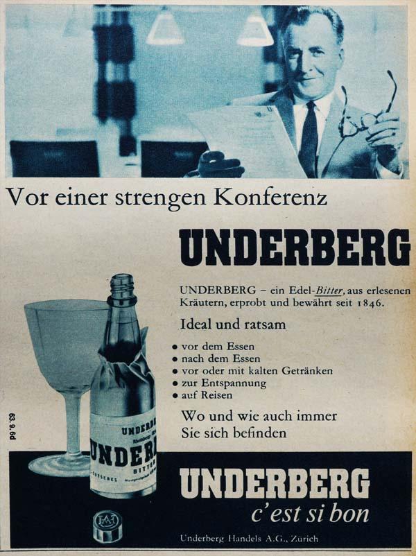 Antiquitext - Volltext - Werbetexte - Underberg