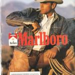 Marlboro-Mann brabbelt wirres Zeugs in seinen Bart