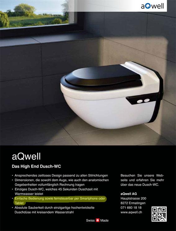 Endlich verbindet sich das Smartphone mit dem WC.