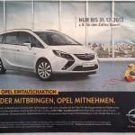 Bei Opel gibt's 5900 Franken für eine Spielzeugente.