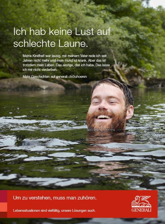 Voilltext Generali Werbekampagne Werbetexte